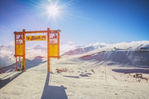 Freestyle Snowparks Boardercross Livigno